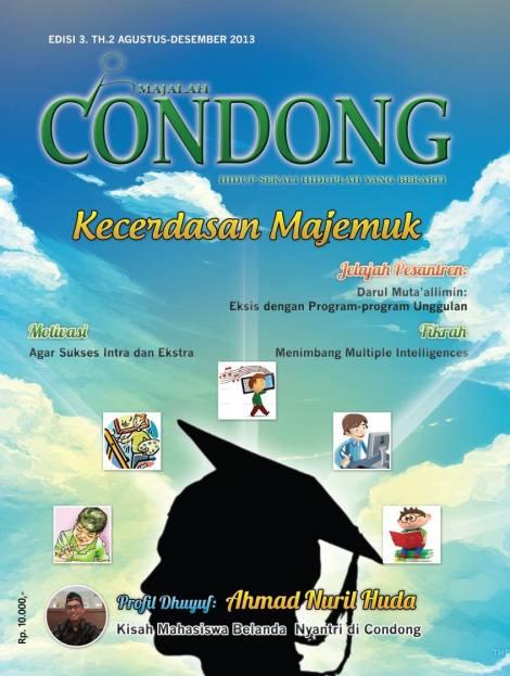 Kover Majalah Condong
